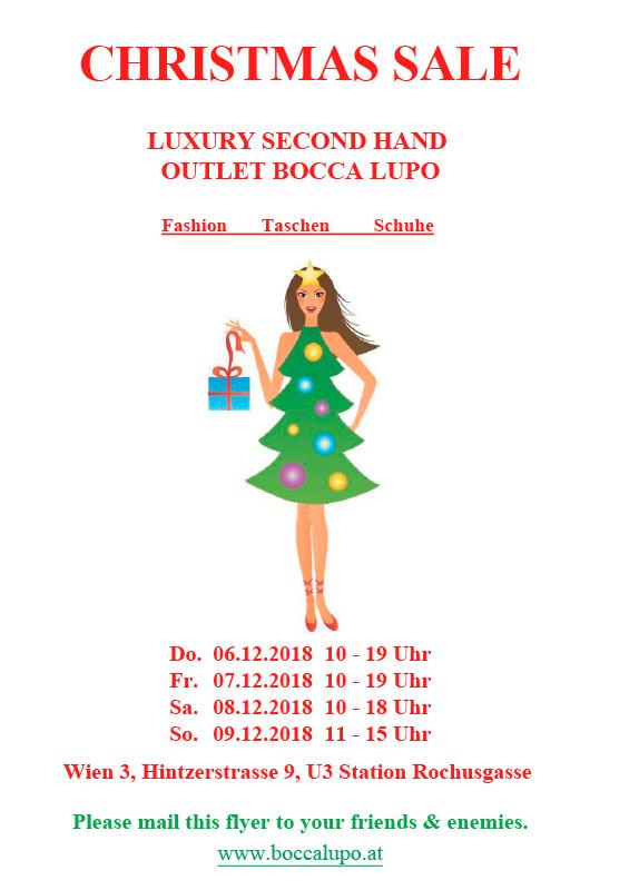 Designer Sale im boccalupo | fashion sale Schnäppchen 2x in Wien